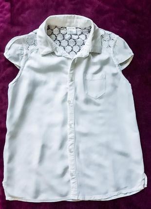 Блуза школьная ostin 7-8л