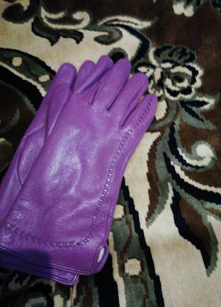 Супер шкіряні рукавички