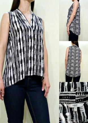 Лёгкая блуза с удлиненной спинкой