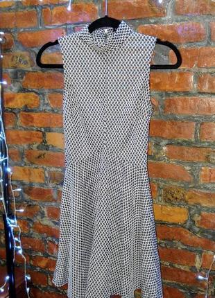 Платье водолазка скейтер с расклешенной юбкой river island