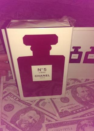 Chanel n5 l'eau red edition