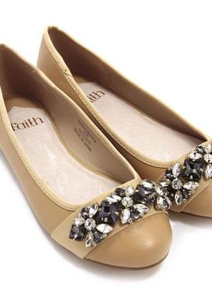 Женские балетки faith 6930 / размер: 38