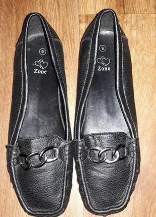 🔥🔥🔥стильные женские туфли, балетки, мокасины на широкую ногу 43 размера zone🔥🔥🔥