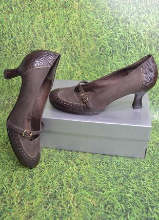 """Германия,""""tamaris"""",100% натуральная кожа! женственные суреркомфортные туфли"""