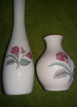 Винтажный фарфоровый набор вазочки.оригинал.бразилия