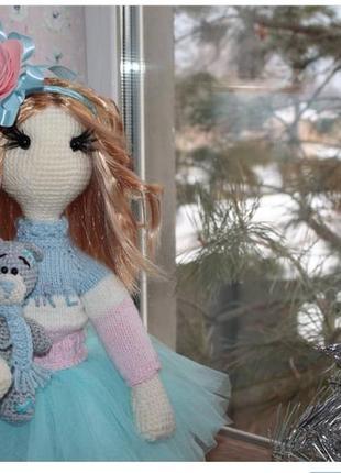 Интерьерная кукла статуэтка