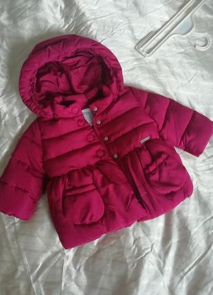 Модная детская демисезонная куртка 74 см mayoral