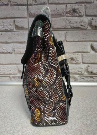 Кожаный большой рюкзак5 фото