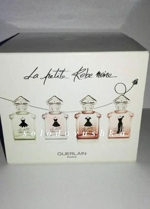 Guerlain - la petite robe noire, набор миниатюр парфюма