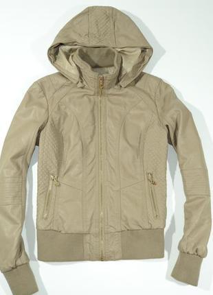 Женская куртка из искусственной кожи kelyna paris