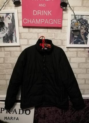Куртка женская дутая куртка чёрная короткая куртка