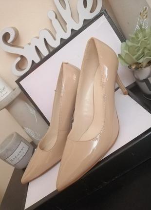 Стильные туфли классические лодочки nine west