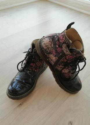 Ботинки для девочки осень-весна