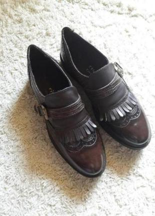 Туфли окфорды броги