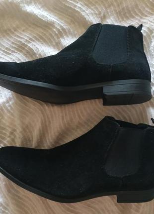 Кожаные ботинки primark, оригинал!!!