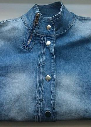 Коттоновая рубашка anule jeans