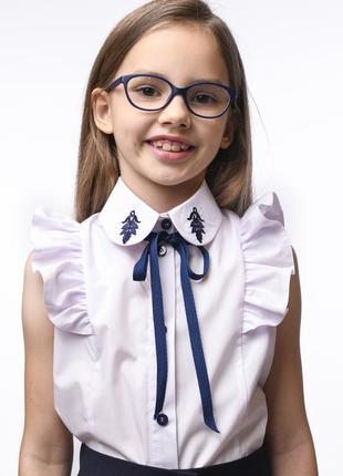Блузка с рюшем