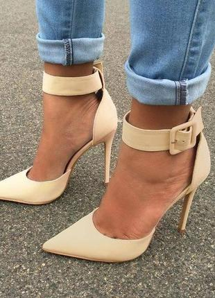 Лодочки туфли босоножки на шпильке