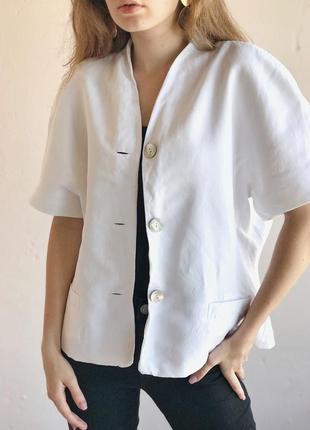 Рубашка блуза пиджак  масивные плечи, м р