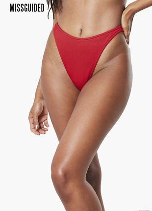 Новый низ от купальника трусики бикини missguided
