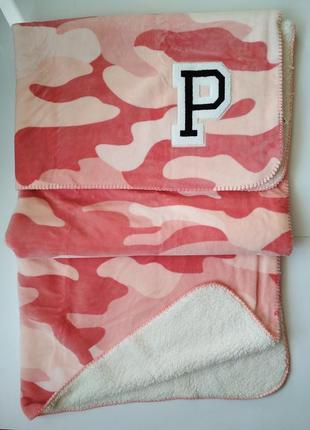 Одеяло-плед victoria's secret pink оригинал