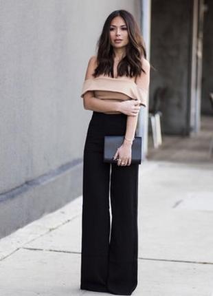 Шикарные брюки широкие кюлоты