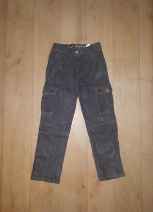 Микровельветовые брюки chicco 116