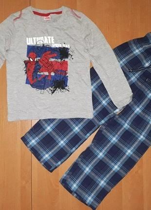 Пижама для мальчика германия р. 98-104, фланель