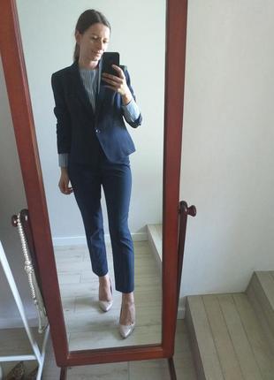 Классический синий нави неви пиджак