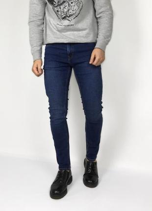 Next strech skinny jeans зауженные джинсы синие