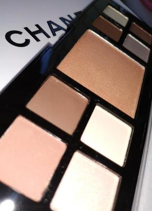 2 в 1!набор теней 8 + хайлайтер 1 professional makeup