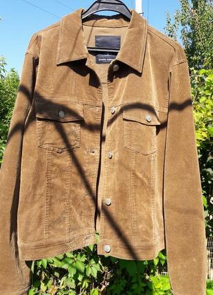 Піджак куртка у вінтажному стилі tom tailor вельветовая джинсовка