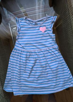 Плаття для дівчинки h&m
