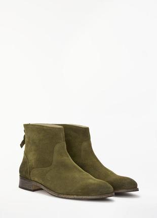 Стильные замшевые ботинки boden