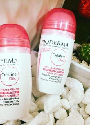 Биодерма сенсибио део sensibio deo anti-perspirant 24h  дезодорант антиперсперант