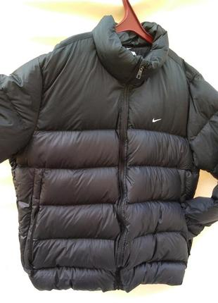 Оригинал пуховик nike куртка пух 75% перо 25% xxl унискс