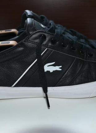 Lacoste 46р кроссовки сникерсы кожаные ботинки. оригинал.