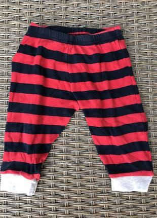 Трикотажные штаны в полоску