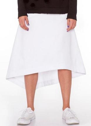 Дизайнерская юбка с ассиметричным низом ko by kolotiy