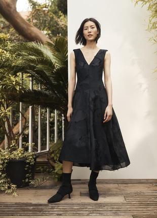 Вечернее платье миди h&m conscious exclusive