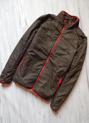 Классная мужская легкая куртка от crane. размер м- l.