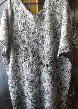 Валяная туника платье ручная работа4 фото