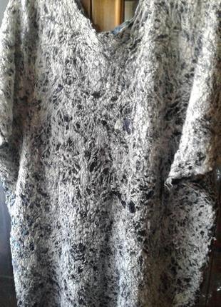 Валяная туника платье ручная работа5 фото