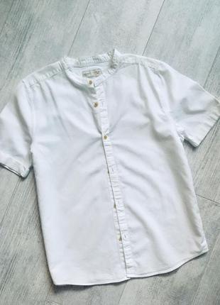Белая рубашка зара 12-14 лет