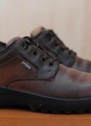 Кожаные коричневые ботинки hotter gore-tex. 42 размер. оригинал