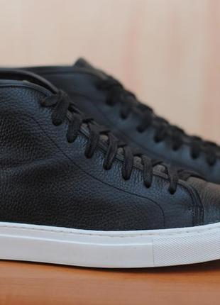 Черные кожаные мужские ботинки reiss. 44 размер. оригинал