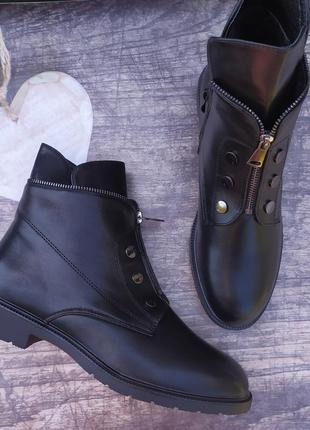 Скидка! демисезонные ботинки большие размеры5 фото