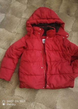 Шикарная куртка на 6-7 лет