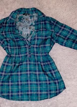 Рубашка с пояском tally weijl размер м в идеальном состоянии