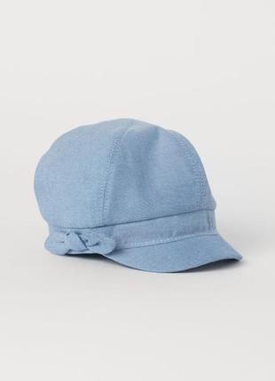 Кепик на 4-6 лет, h&m cap with bow